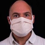 Mund-Nasen-Schutz aus 100% Baumwolle